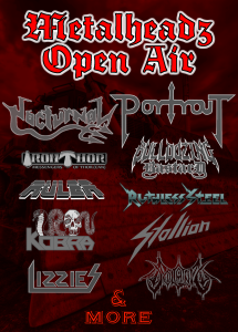 Metalheadz Open Air '14- Vorab Flyer