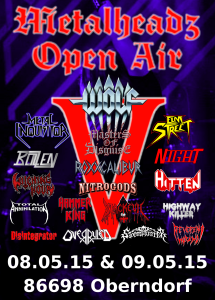 Metalheadz Open Air' 15 1